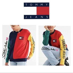 Tommy Jeans Colorblock 90's Sweatshirt Sweater